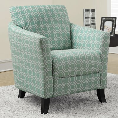 Monarch Specialties Inc. Angled Kaleidoscope Arm Chair