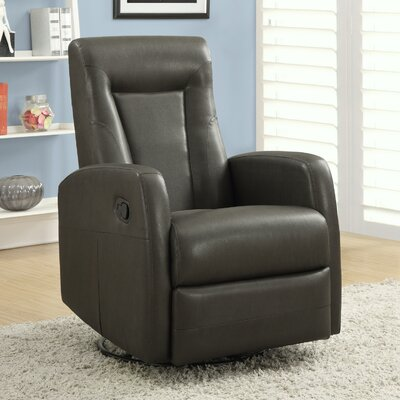 Monarch Specialties Inc. Swivel Rocker Recliner