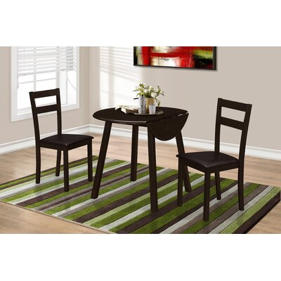 Monarch Specialties Inc. 3 Piece Dining Set