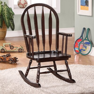 Monarch Specialties Inc. Juvenile Arrow Back Rocking Chair
