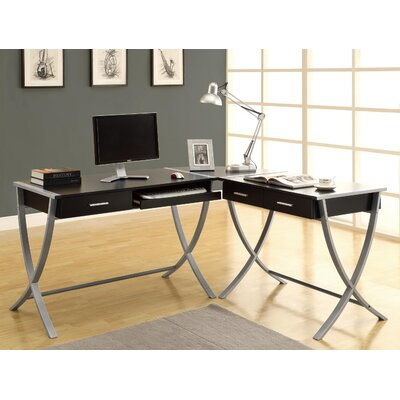 Monarch Specialties Inc. 3 Piece Corner Computer Desk