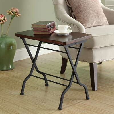 Monarch Specialties Inc. Folding End Table