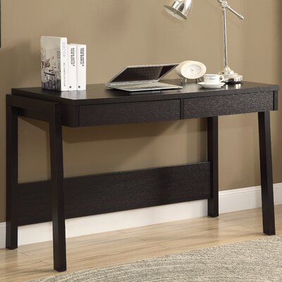 Monarch Specialties Inc. Writing Desk with 2 Storage Drawers