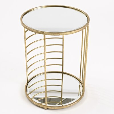 InnerSpace Luxury Products Linear Side End Table