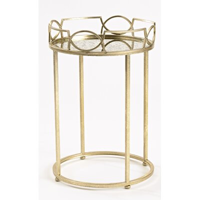 InnerSpace Luxury Products Lattice Edge End Table Image