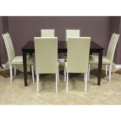 Warehouse of Tiffany Blazing 7 Piece Dining Set