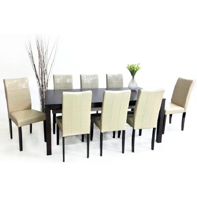 Warehouse of Tiffany Eveleen 9 Piece Dining Set