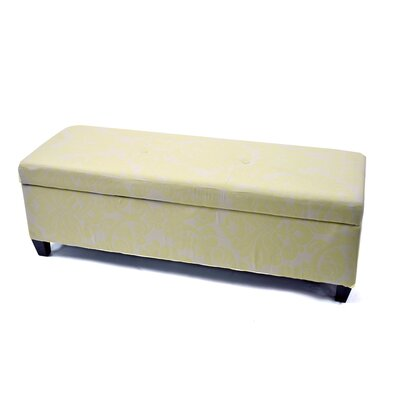 Warehouse of Tiffany Bolbolac Upholstered Storage Ottoman