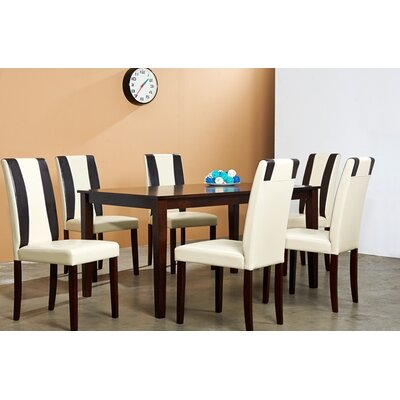 Warehouse of Tiffany Savana 7 Piece Dining Set