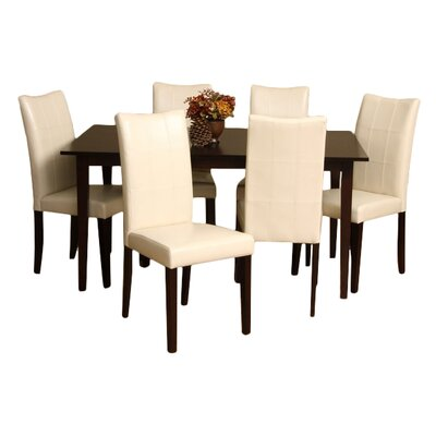 Warehouse of Tiffany Eveleen 7 Piece Dining Set