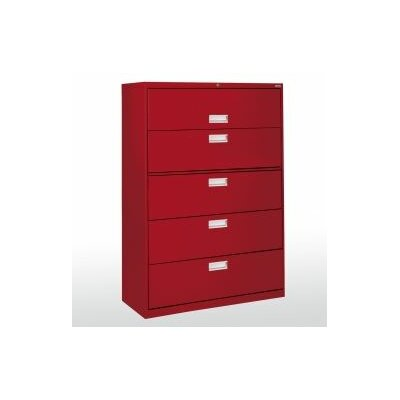 Sandusky Cabinets 600 Series 5-Drawer  File Cabinet