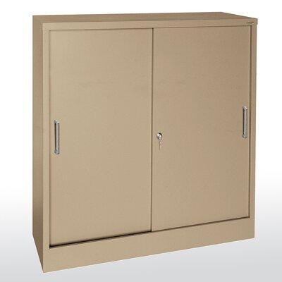 Sandusky Cabinets Sliding 2 Door Storage ..
