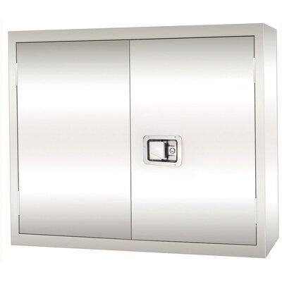 Sandusky Cabinets Stainless Steel 2 Door Storage Cabinet