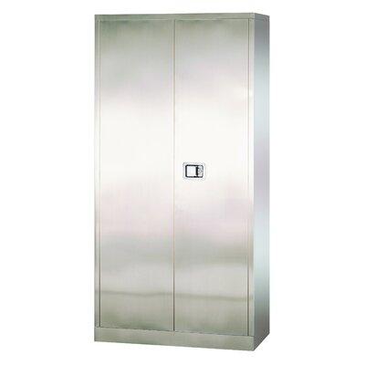 Sandusky Cabinets Stainless Steel 2 Door ..