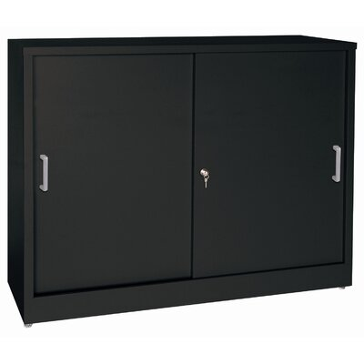 Sandusky Cabinets Sliding 2 Door Storage ..