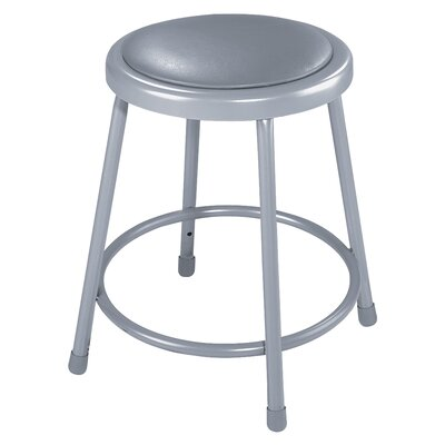 National Public Seating Padded Stool with Footring