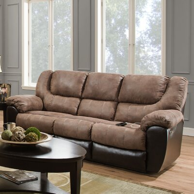 Darby Home Co Simmons Upholstery Derosier Reclining Sofa
