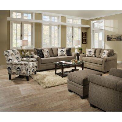 Simmons Upholstery Seguin Driftwood Hide-A-Bed Sleeper Sofa