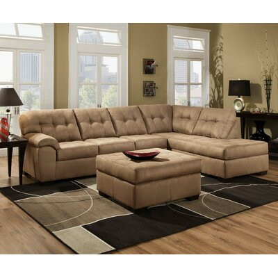 Simmons Upholstery Velocity Sectional