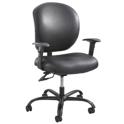 Safco Products Company Alday Series Mid-Back Executive Office Chair