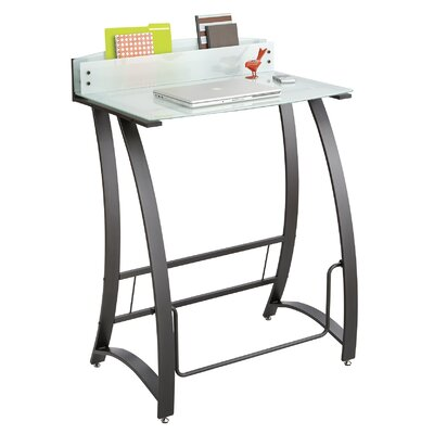 Safco Products Company Computer Desk with Xpressions Stand Up Workstation