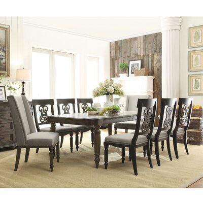 Rosalind Wheeler Beckles 9 Piece Dining Set