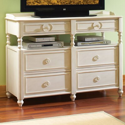 Beachcrest Home Vassar 6 Drawer Media Chest
