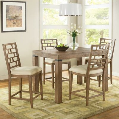 August Grove Lyons 3 Piece Counter Height Dining Set