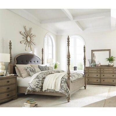 Riverside Furniture Corinne Four Poster Customizable Bedroom Set