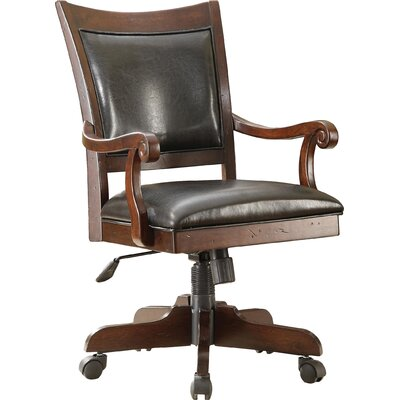 Loon Peak Baddeck Mid-Back Desk Chair with Arm