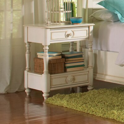 Beachcrest Home Vassar 2 Drawer Nightstand