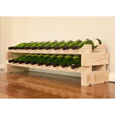 Vinotemp 20 Bottle Floor Wine Rack