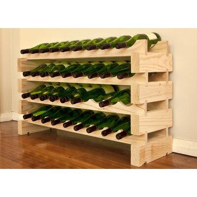 Vinotemp 36 Bottle Floor Wine Rack