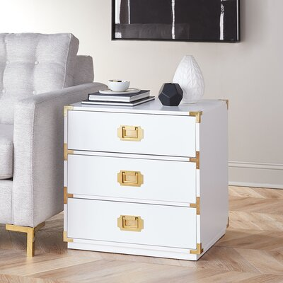 DwellStudio Loren 3 Drawer Chest