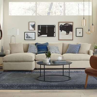 DwellStudio Asher Sectional with Chaise