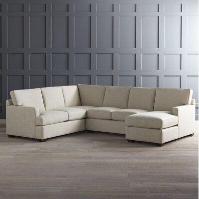 DwellStudio Johnnie Sectional With Chaise