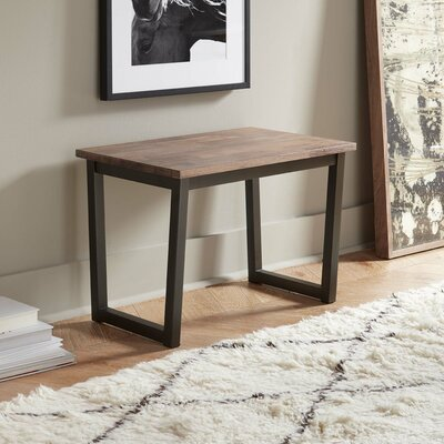 DwellStudio Monroe 1 Seat Walnut Kitchen Bench