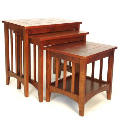 Wayborn Hugo 3 Piece Nesting Tables