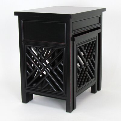 Wayborn Lattic 2 Piece Nesting Tables