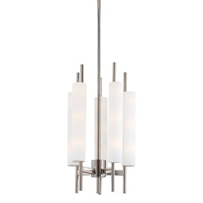 sonneman piccolo 5 light chandelier reviews wayfair