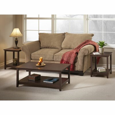 Darby Home Co Egger 3 Piece Coffee Table Set