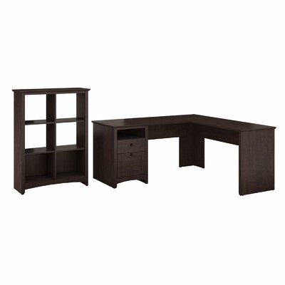 Darby Home Co Egger L Executive Desk w..