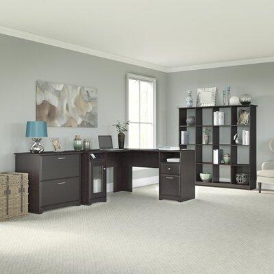 Bush Furniture Cabot 3-Piece L-Shape Desk..