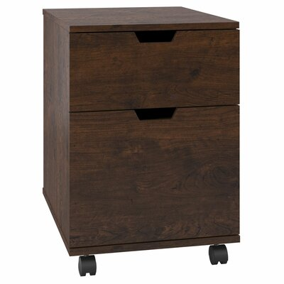 Bush Furniture Mission Creek 2-Drawer Mobile Pedestal