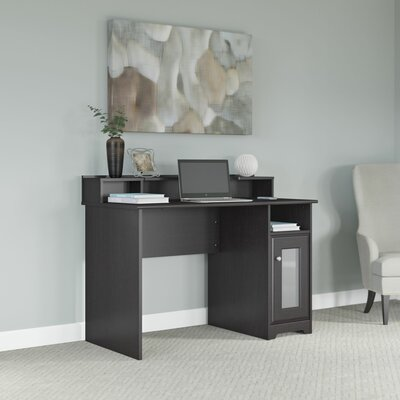 Bush Furniture Cabot Writing Desk with Desktop Organizer