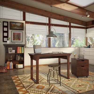 Bush Furniture Mission Creek 3-Piece Standard Desk Office Suite