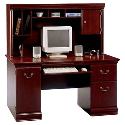 Astoria Grand Vittoria Computer Desk with Hutch