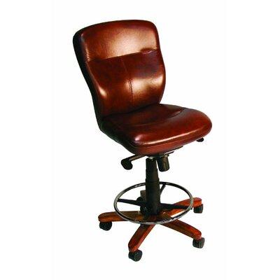 Hooker Furniture Leather Tall Tilt Swivel Chair