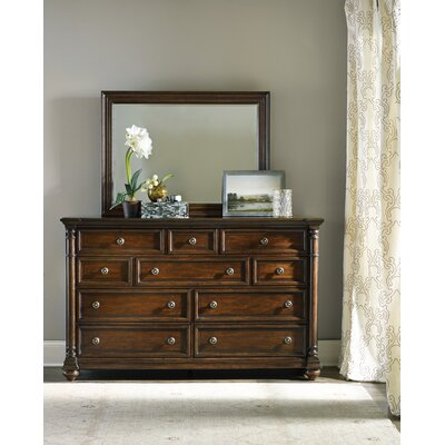 Hooker Furniture Leesburg 10 Drawer Dresser with..