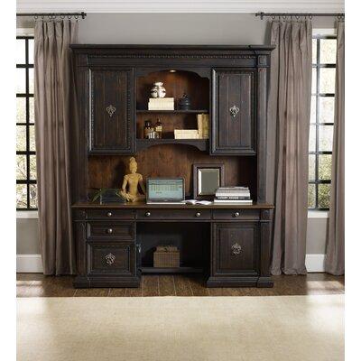 Hooker Furniture Treviso Credenza Desk with Hutch